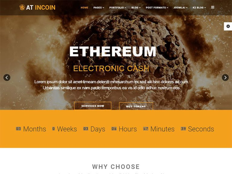 AT INCOIN FREE RESPONSIVE CRYPTOCURRENCY WEBSITE TEMPLATE