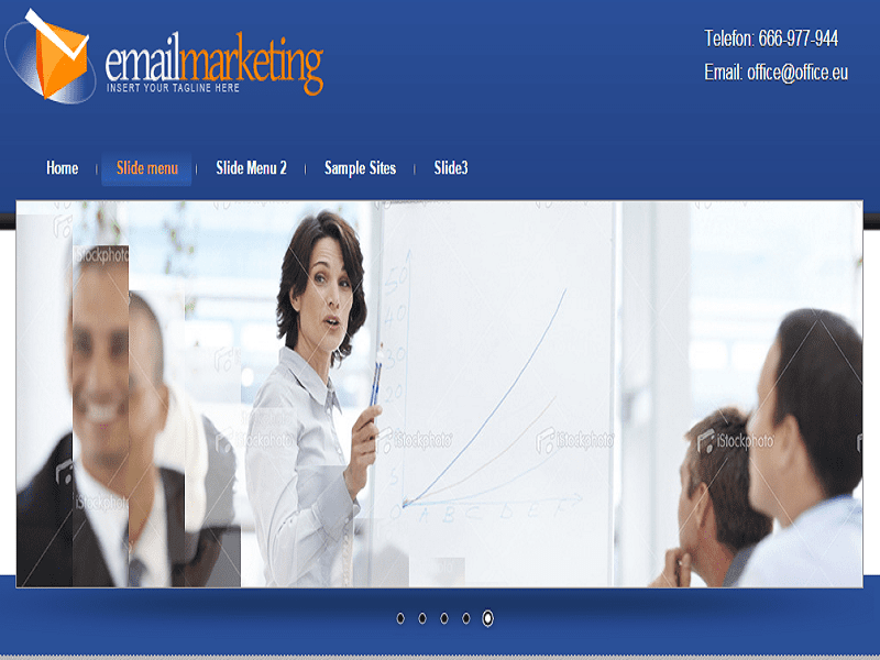 EMAIL MARKETING – JOOMLA TEMPLATE FOR MARKETING