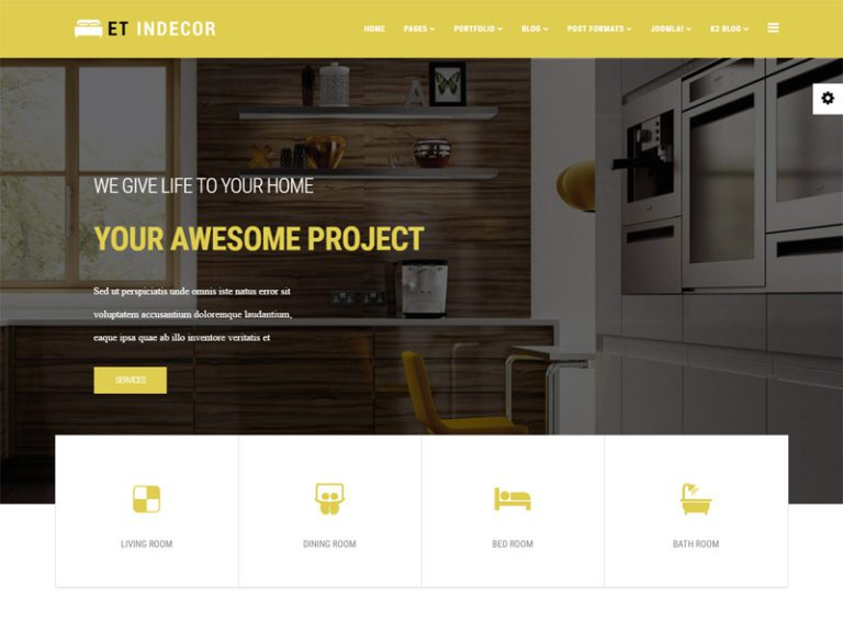 ET INDECOR JOOMLA INTERIOR TEMPLATE