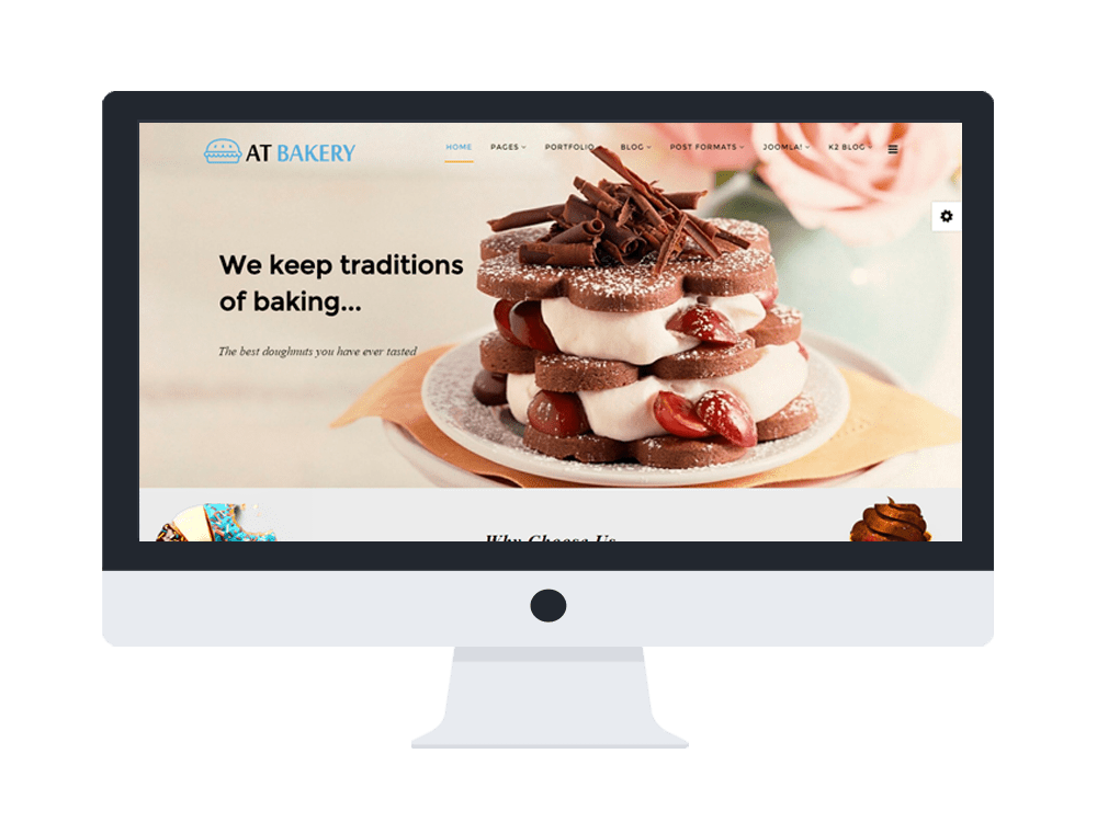 AT BAKERY STORE FREE ONEPAGE JOOMLA TEMPLATE