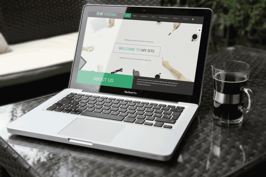 AT PERSONAL – FREE PROFILE , PERSONAL JOOMLA TEMPLATE