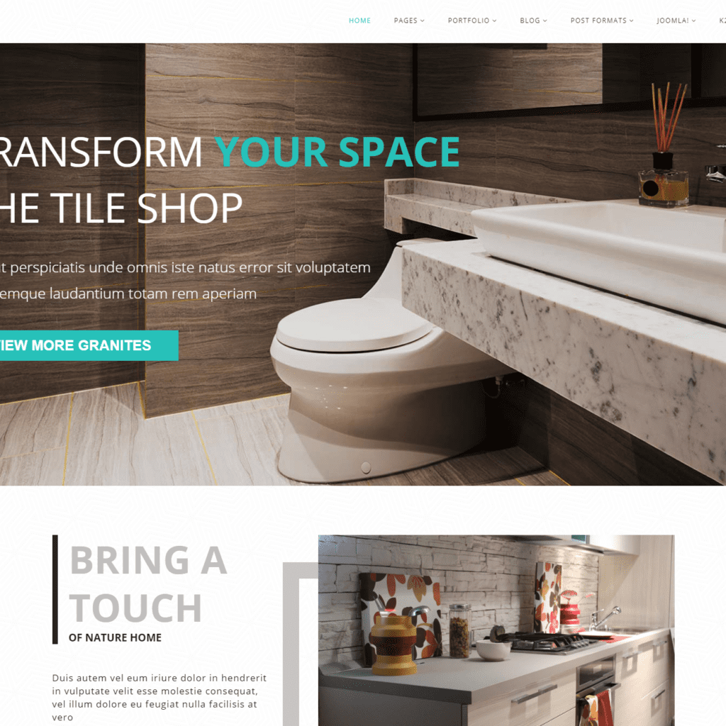 AT TILES FREE CONSTRUCTION MATERIAL WEBSITE TEMPLATE