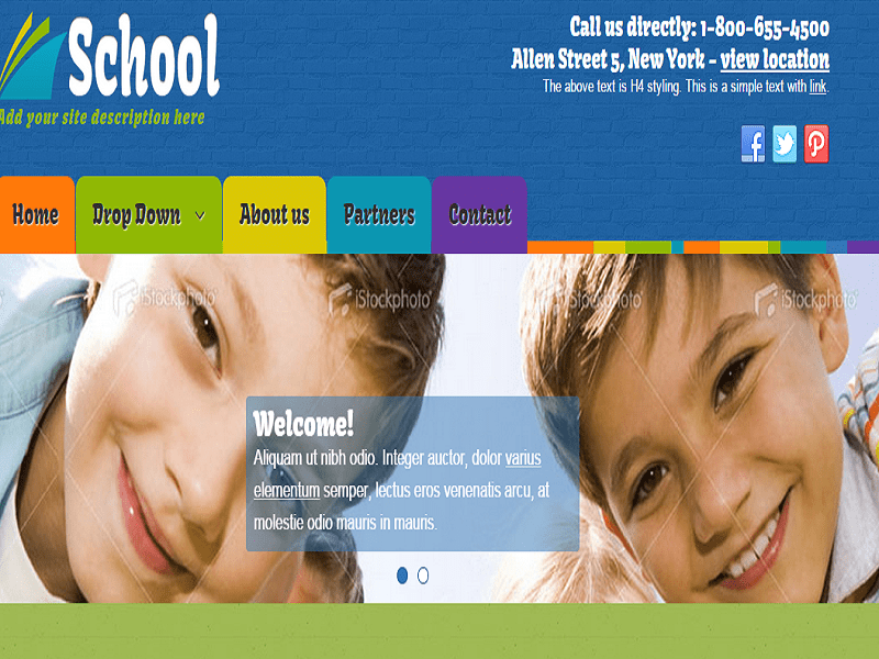 SCHOOL – FREE JOOMLA TEMPLATE SCHOOL WEBSITE