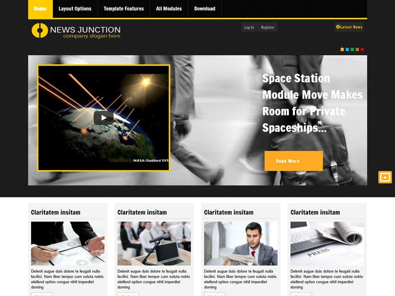 AT NEWSJUNCTION JOOMLA RESPONSIVE COMPANY TEMPLATE