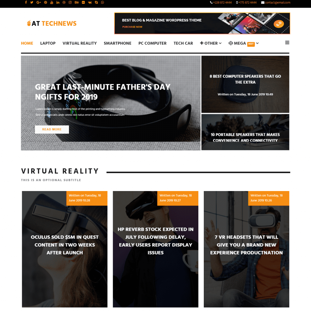 AT TECHNEWS ELEGANT NEWS JOOMLA TEMPLATE