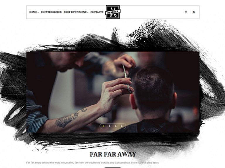 BEARDER FREE HAIRDRESSER WORDPRESS THEME