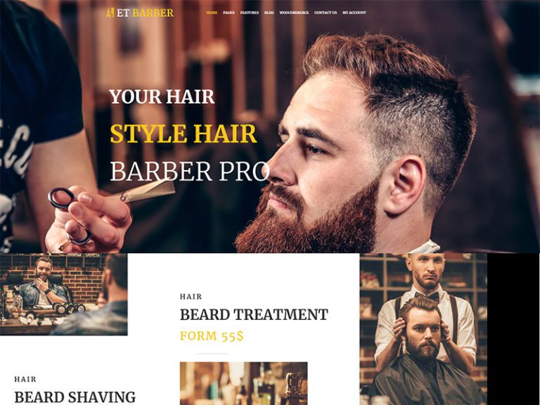 ET BARBER FREE RESPONSIVE BARBER SHOP WORDPRESS THEME