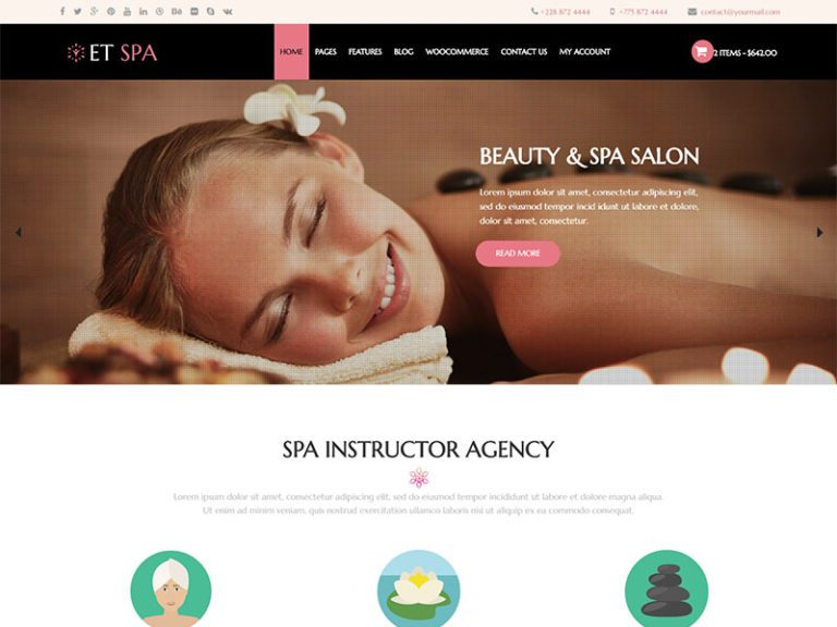 ET SPA WORDPRESS THEME