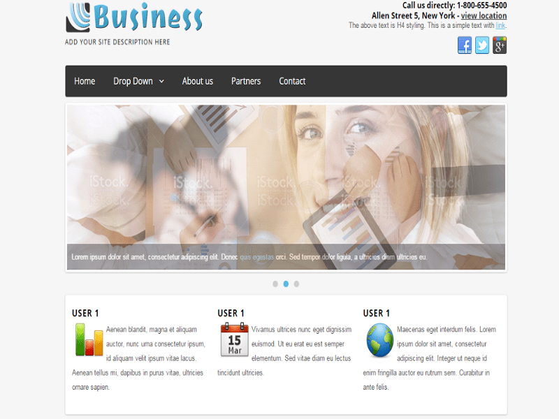 JT BUSINESS – JOOMLA 3.2 TEMPLATE THE NEWS