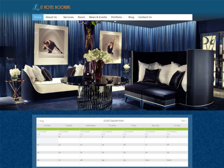 LT HOTEL BOOKING FREE RESPONSIVE HOTEL BOOKING WORDPRESS THEME
