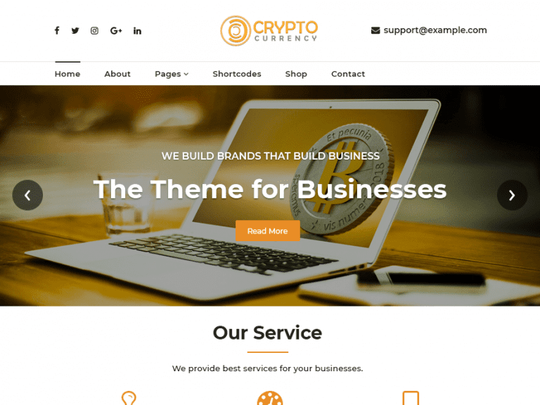 CRYPTOCURRENCY-EXCHANGE FREE NEWS WORDPRESS THEME