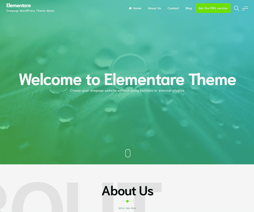 ELEMENTARE FREE NEWS WORDPRESS THEME