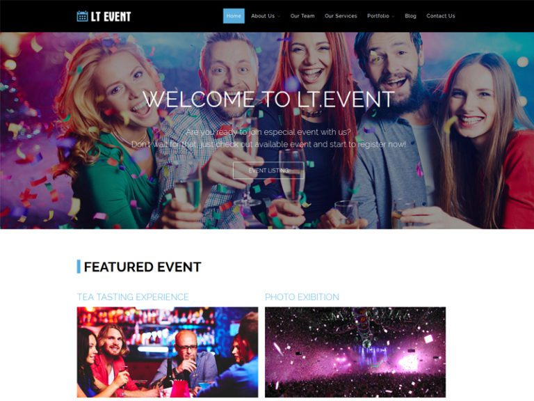 LT EVENT FREE RESPONSIVE EVENT WORDPRESS THEME