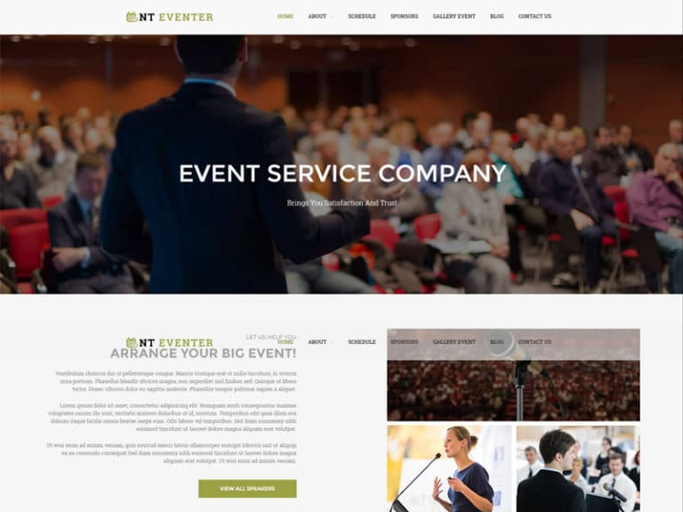 NT EVENTER FREE RESPONSIVE EVENT WORDPRESS THEME