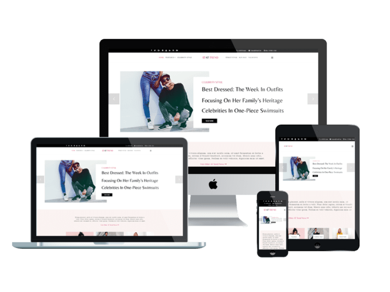AT TREND FREE FASHION MAGAZINE JOOMLA THEME