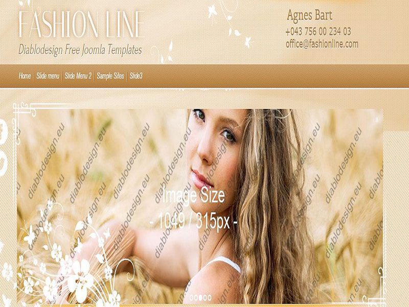 FASHION LINE – FREE JOOMLA TEMPLATE FASHION LINE
