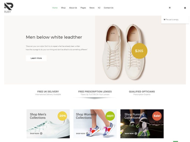RUBY FREE FASHION JOOMLA TEMPLATE