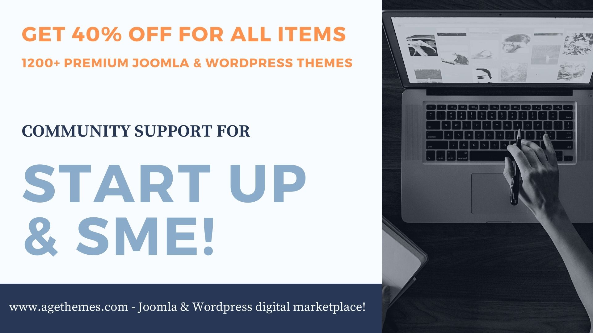 AgeThemes offer 40% OFF for all items