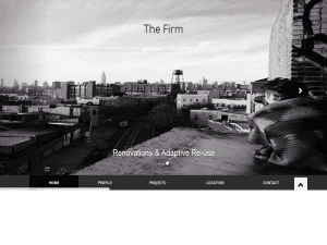 The Firm Bootstrap Template Free