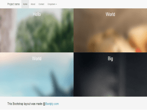 5050 Bootstrap Template Free