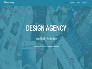 Design Agency Bootstrap Template Free