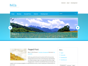 Free Theme WordPress Travel