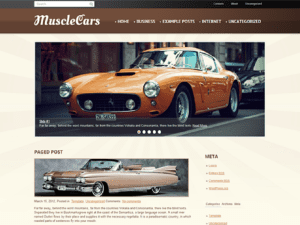 Free Theme WordPress For Car