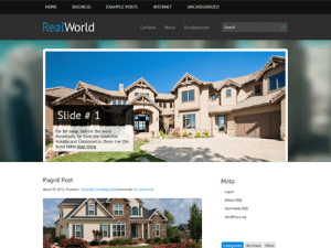 Free Theme WordPress For House