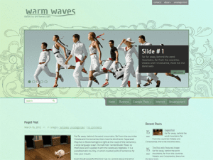 WarmWaves-Free Theme WordPress