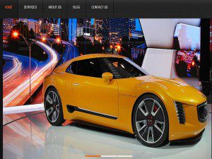 Joomla Template For Motoras Cars