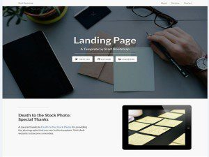 Company Template Free Website