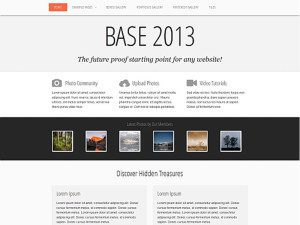 Base 2013 - Free HTML Website Template