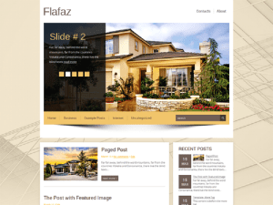 Flafaz Free Theme WordPress
