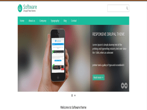 Software Theme Drupal Free