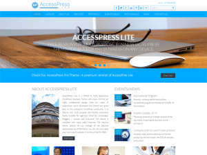 Accesspress Lite -Template Wordpress Free For Business
