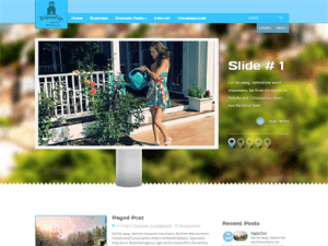 Free Theme WordPress For Estate