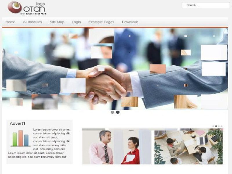 Construction Company Website Joomla Template