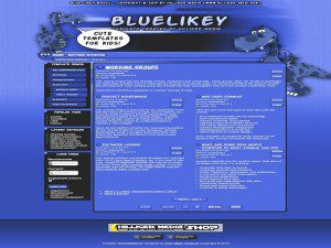 Blue Likey Basic Free Joomla Template