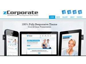 zCorporate Responsive HTML5 Free Template