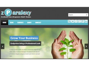 zParalexy - Free Responsive Html5 Template