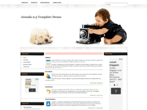 Free joomla 1.0 Template For Business