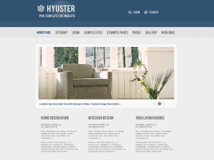 Joomla 1.7 Template For House