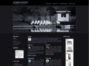 Darktones Joomla Template