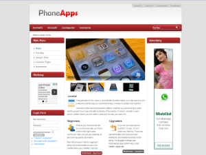 Phone Apps Joomla Template