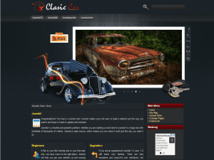 Joomla 2.0 Template Clasic Car