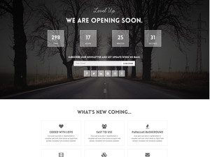 Level Up Free Landing Page Bootstrap Template