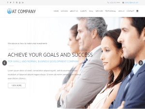 Free Onepage Template Joomla For Business