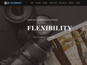 Template Joomla Free For Image Gallery / Photography