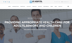 joomla template free for hospital / medicall