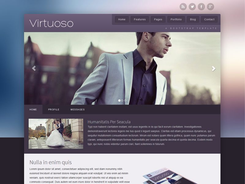 Virtuoso-Blog-Bootstrap-Free-Template
